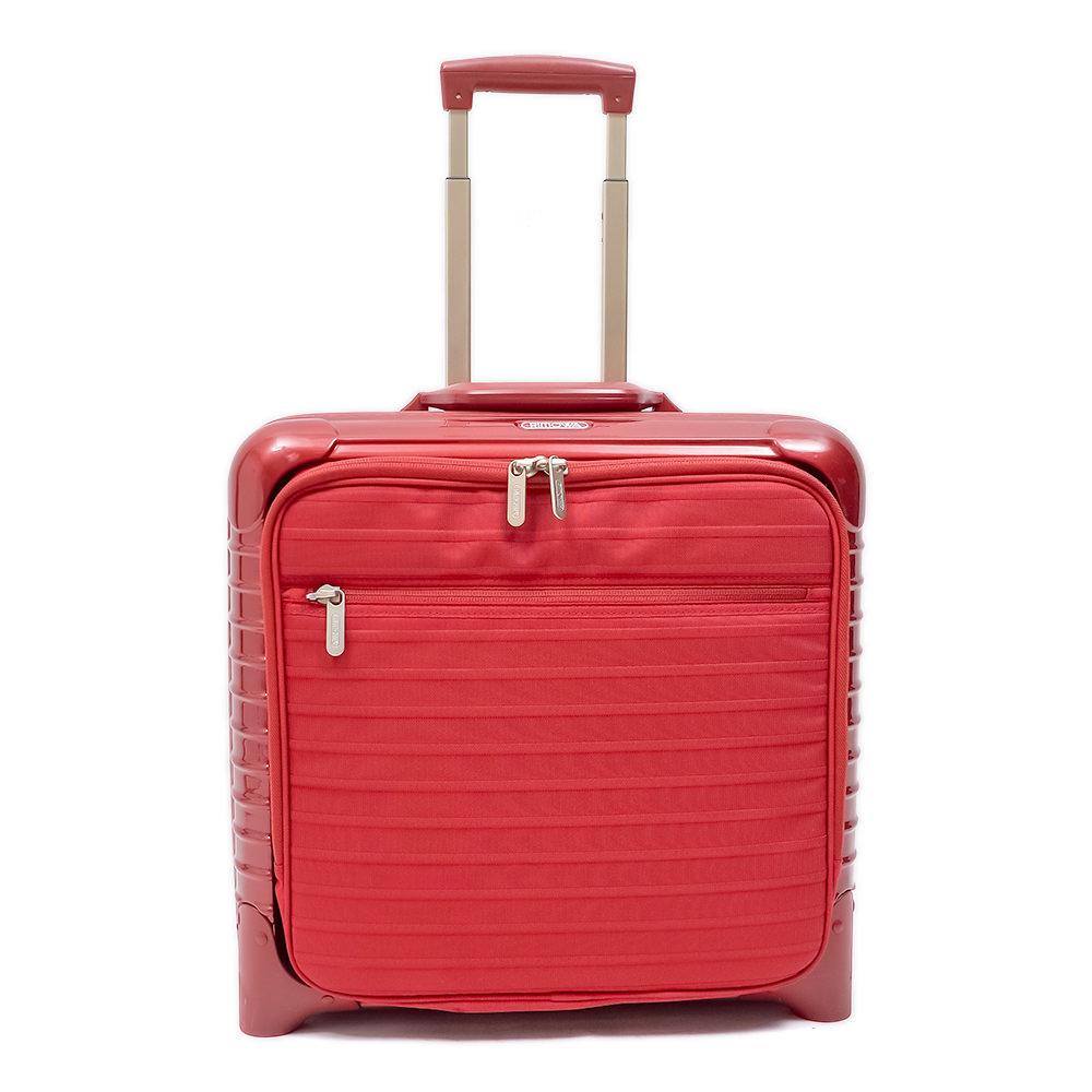 RIMOWA(リモワ)スーツケース リモワ サルサデラックス ハイブリッド 中古美品 23リットル 4輪画像