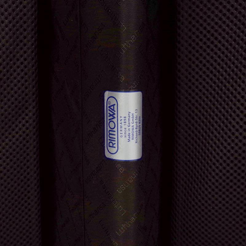 ルフトハンザ リモワ プライベートジェット 在庫商品 1748506 64リットル 4輪