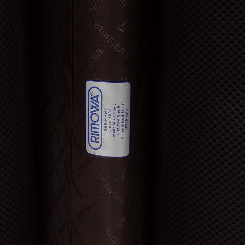 ルフトハンザ リモワ プライベートジェット 電子タグ 1749491 63.5リットル 4輪