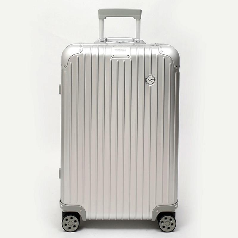 RIMOWA(リモワ)スーツケース オリジナル ルフトハンザエディション Check-In M シルバー 60L画像