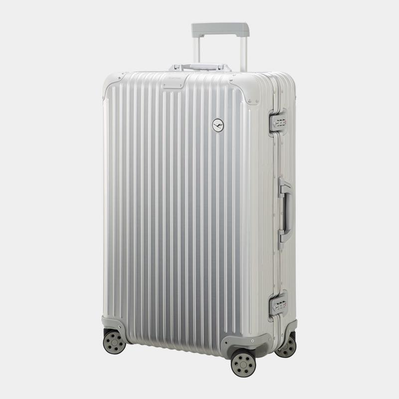 RIMOWA(リモワ)スーツケース オリジナル ルフトハンザエディション Check-In L シルバー 86L画像