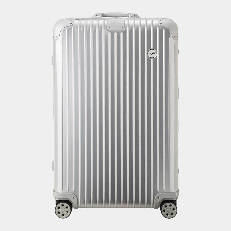 RIMOWA(リモワ)スーツケース オリジナル ルフトハンザエディション Check-In L シルバー 86L 在庫商品画像