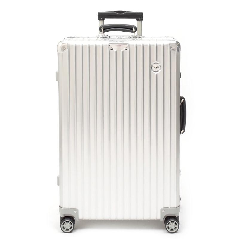 RIMOWA(リモワ)スーツケース クラシック ルフトハンザエディション Check-In M シルバー 61L画像