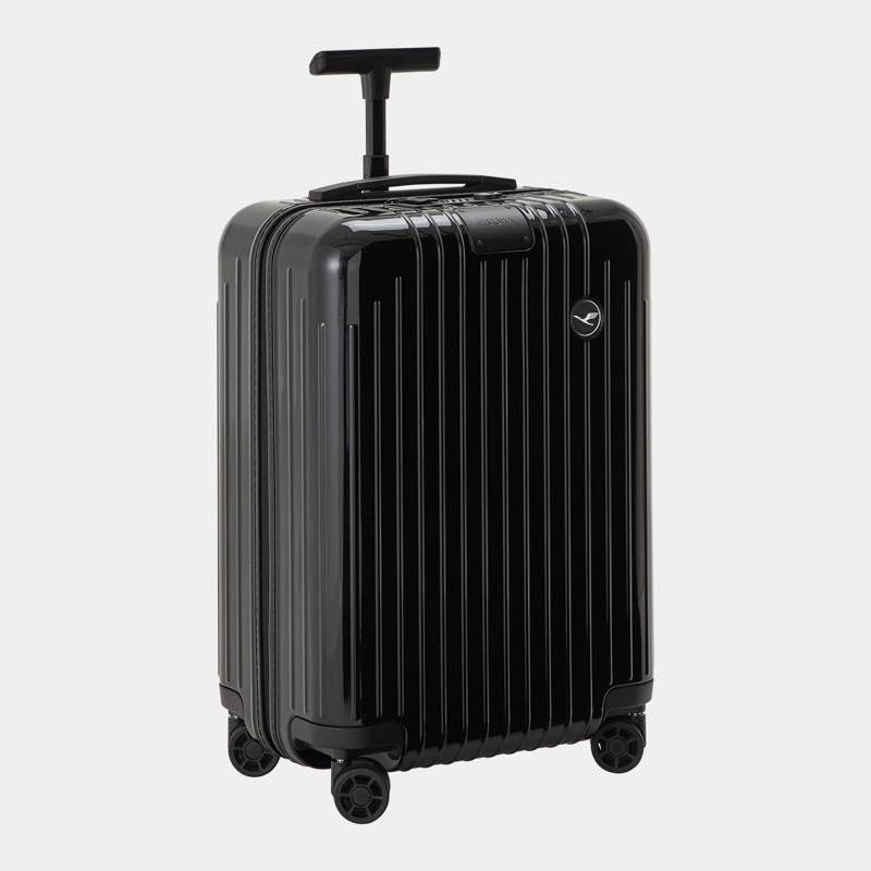 RIMOWA(リモワ)スーツケース エッセンシャルライト ルフトハンザエディション Cabin ブラック 37L画像
