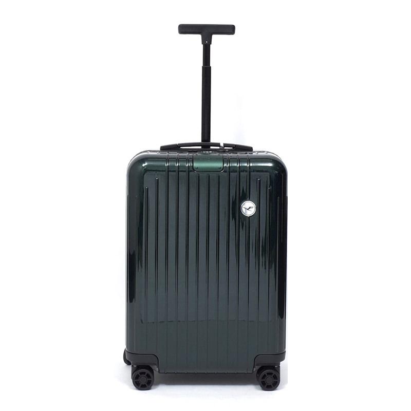 RIMOWA(リモワ)スーツケース エッセンシャルライト ルフトハンザエディション Cabin グリーン 37L画像