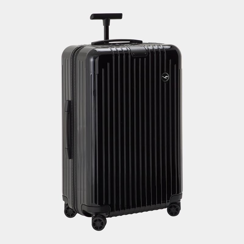 RIMOWA(リモワ)スーツケース エッセンシャルライト ルフトハンザエディション Check-In M ブラック 59L画像