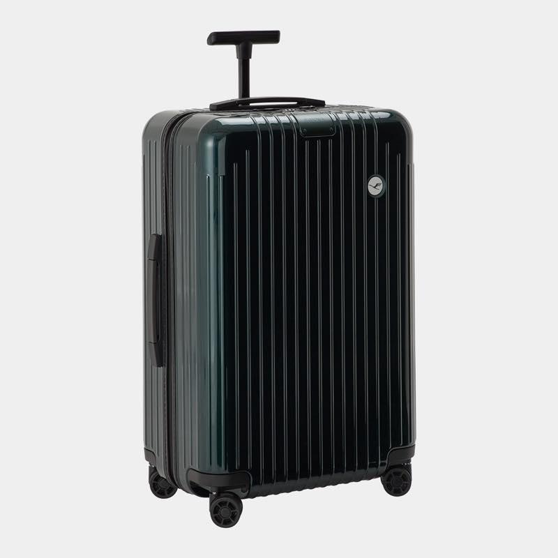 RIMOWA(リモワ)スーツケース エッセンシャルライト ルフトハンザエディション Check-In M グリーン 59L画像