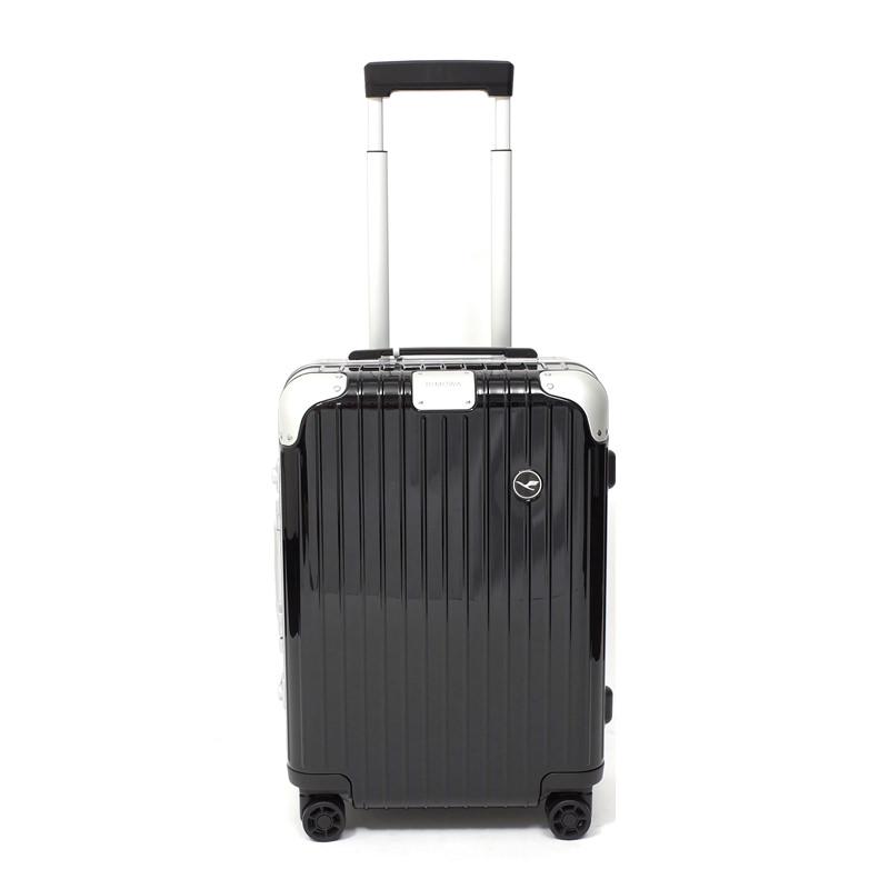 RIMOWA(リモワ)スーツケース ハイブリッド ルフトハンザエディション Cabin ブラック 37L画像