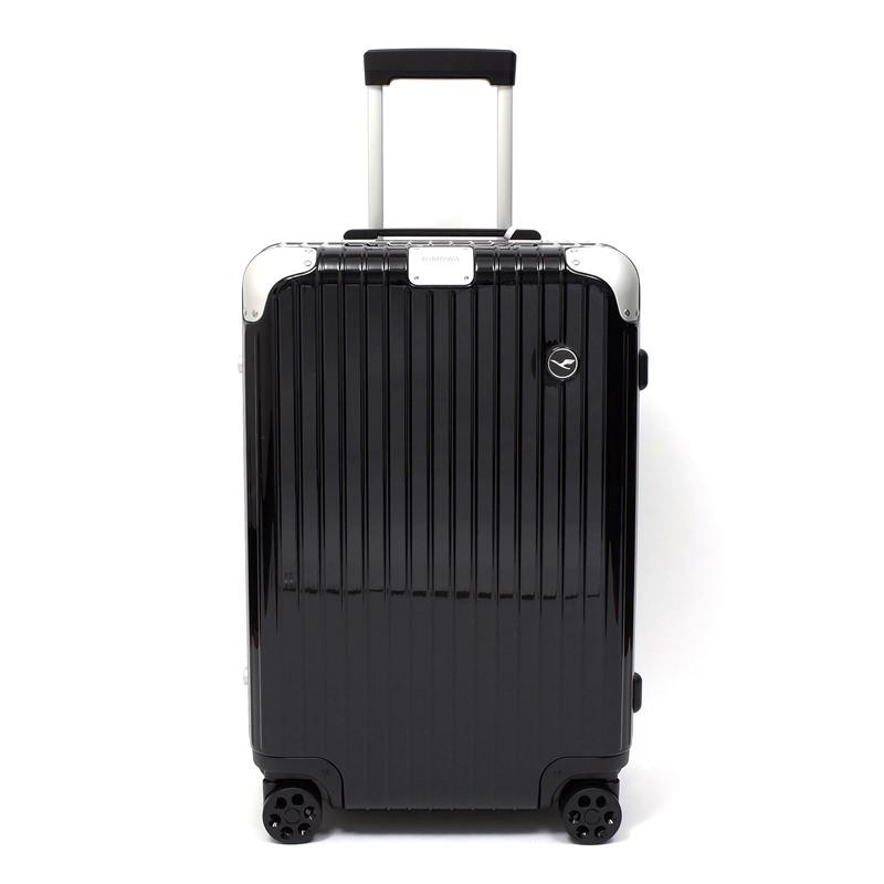 RIMOWA(リモワ)スーツケース ハイブリッド ルフトハンザエディション Check-In M ブラック 62L画像