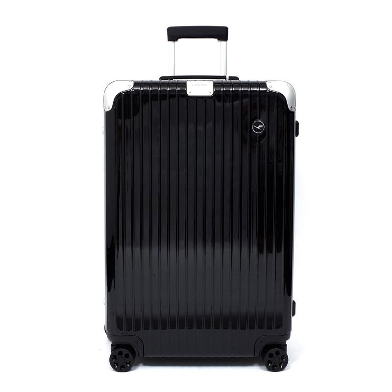 RIMOWA(リモワ)スーツケース ハイブリッド ルフトハンザエディション Check-In L ブラック 84L 在庫商品画像