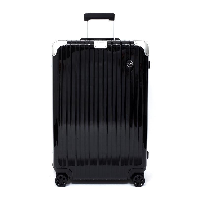 RIMOWA(リモワ)スーツケース ハイブリッド ルフトハンザエディション Check-In L ブラック 84L画像