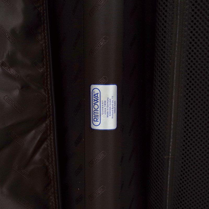 リモワ トパーズ チタニウム 923.70.03.4 82リットル 4輪
