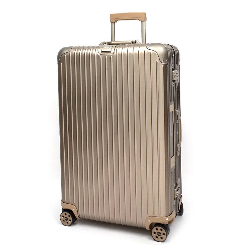 RIMOWA(リモワ)スーツケース リモワ トパーズ チタニウム 電子タグ 924.73.03.5 82リットル 4輪画像
