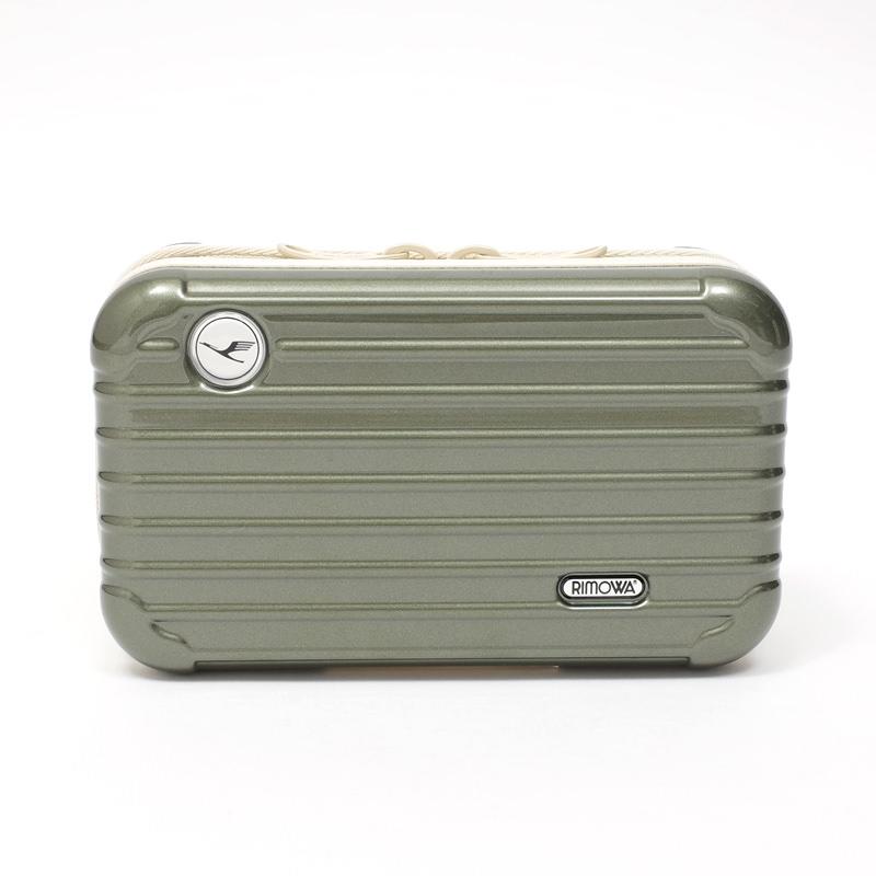 リモワスーツケース ルフトハンザ航空限定 アメニティケース 在庫商品 オリーブグリーン画像