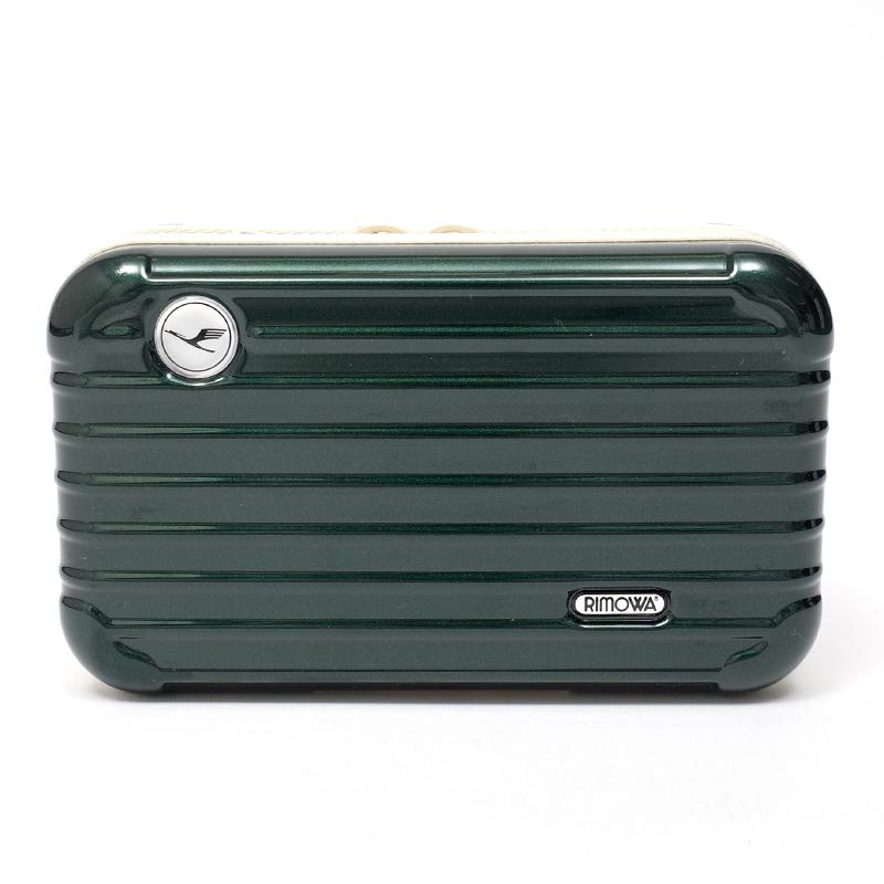 リモワスーツケース ルフトハンザ航空限定 アメニティケース 在庫商品 ダークグリーン画像