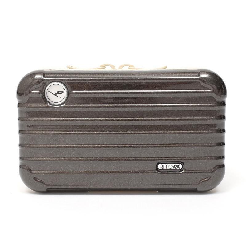 リモワスーツケース ルフトハンザ航空限定 アメニティケース 在庫商品 ダークブラウン画像