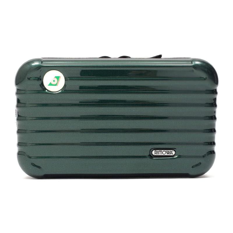 リモワスーツケース EVA航空限定 アメニティケース 在庫商品 グリーン画像