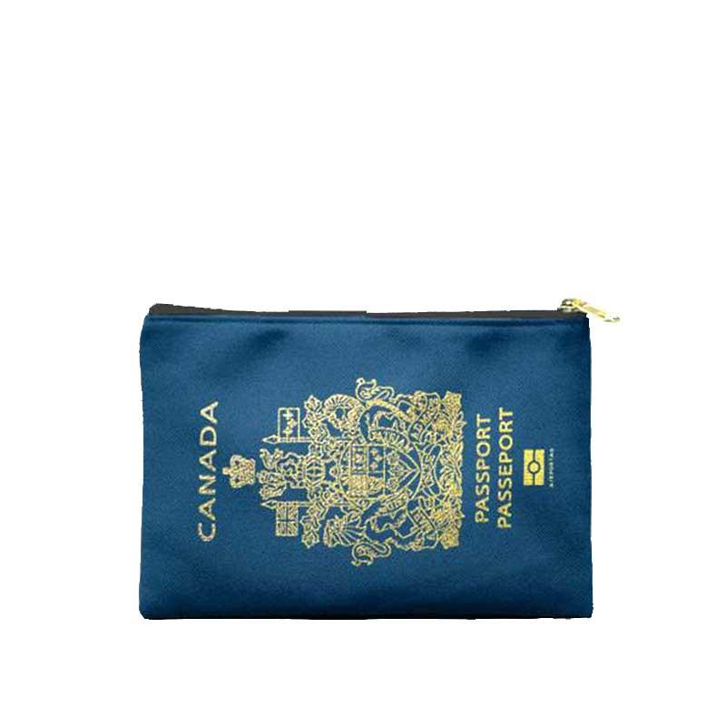 RIMOWA(リモワ)スーツケース AIRPORTAGトラベルポーチ パスポートモチーフ カナダ画像