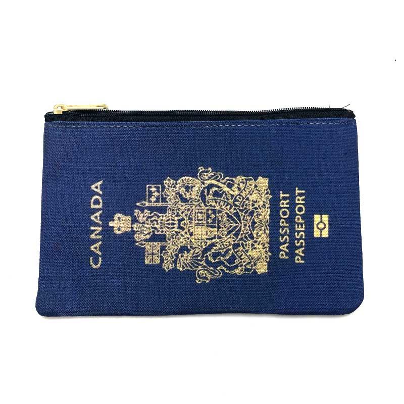 RIMOWA(リモワ)スーツケース AIRPORTAG アウトレット トラベルポーチ パスポートモチーフ カナダ画像