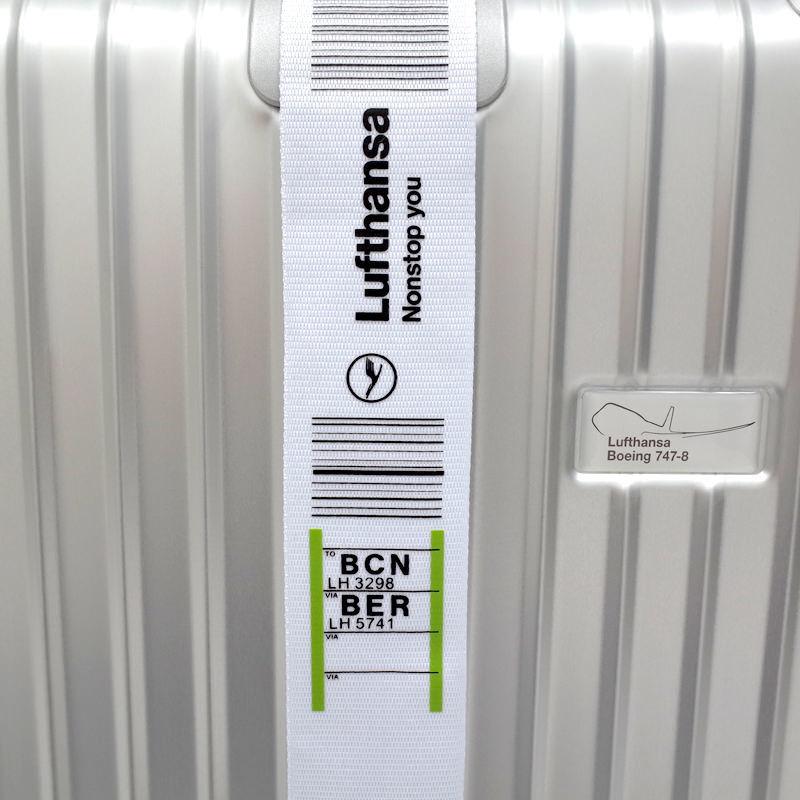 ルフトハンザ 海外限定タグベルト 在庫商品