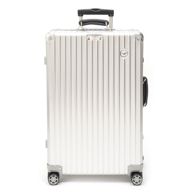 RIMOWA(リモワ)スーツケース クラシック ルフトハンザエディション Check-In M シルバー 61L 在庫商品画像