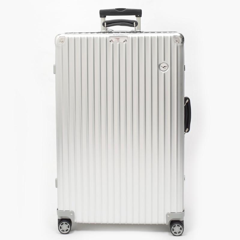 RIMOWA(リモワ)スーツケース クラシック ルフトハンザエディション Check-In L シルバー 84L 在庫商品画像