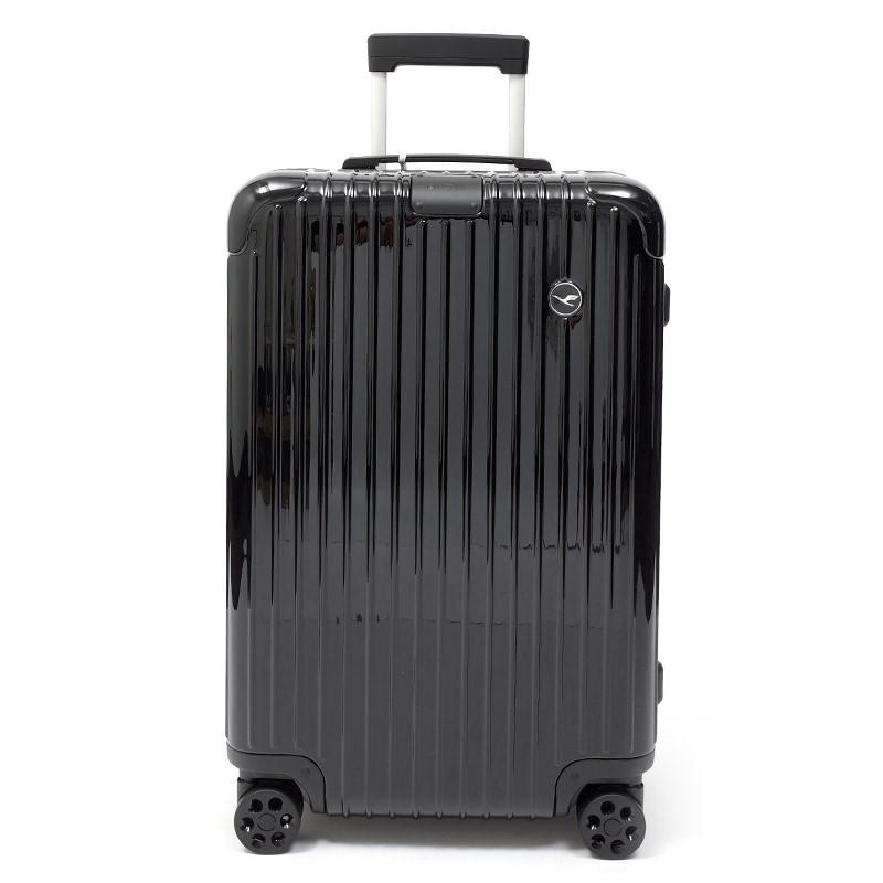 リモワスーツケース エッセンシャル ルフトハンザエディション Check-In M ブラック 60L 在庫商品画像