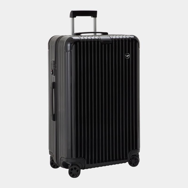 RIMOWA(リモワ)スーツケース エッセンシャル ルフトハンザエディション Check-In L ブラック 85L 在庫商品画像
