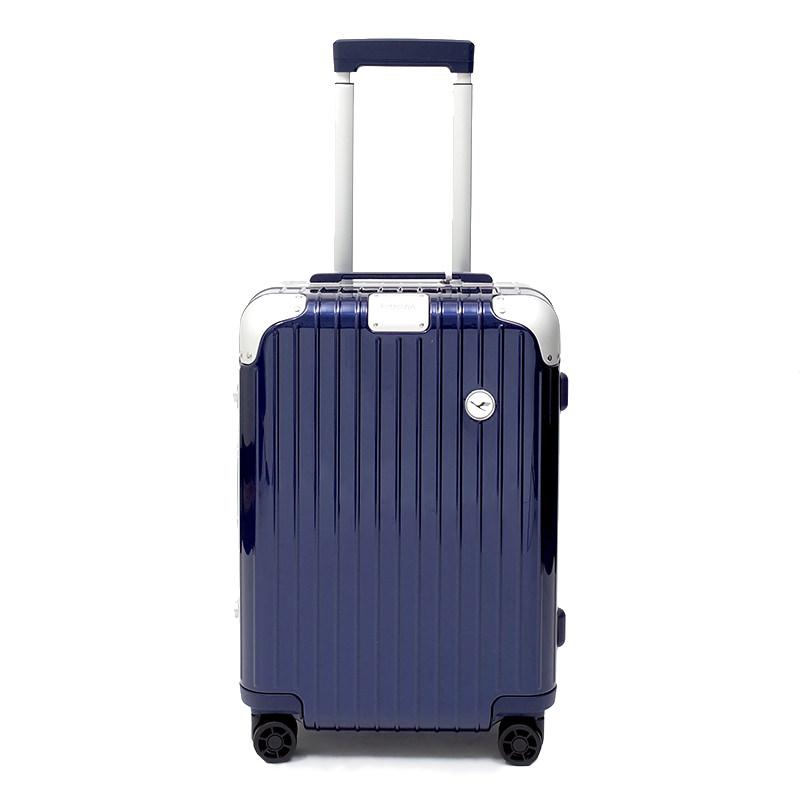 RIMOWA(リモワ)スーツケース ハイブリッド ルフトハンザエディション Cabin 在庫商品 ブルー 37L画像