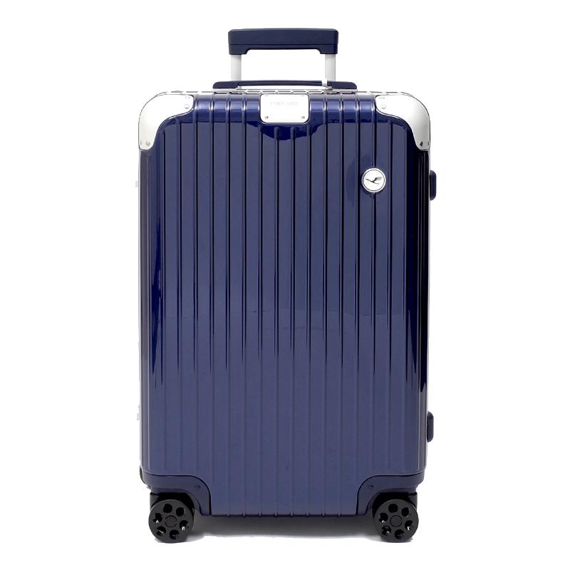 RIMOWA(リモワ)スーツケース ハイブリッド ルフトハンザエディション Check-In M ブルー 62L画像