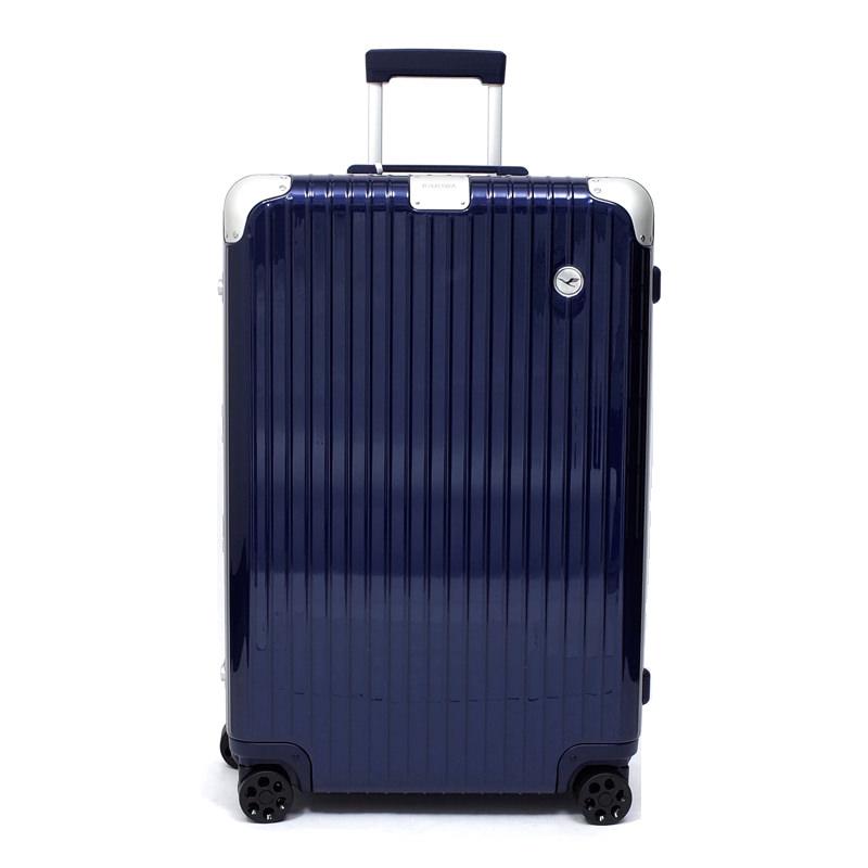 RIMOWA(リモワ)スーツケース ハイブリッド ルフトハンザエディション Check-In L ブルー 84L 在庫商品画像