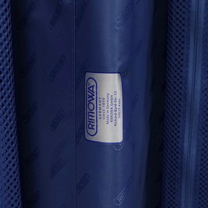 リモワ トパーズ スポーツ 在庫商品 923.75.00.4 89リットル 4輪