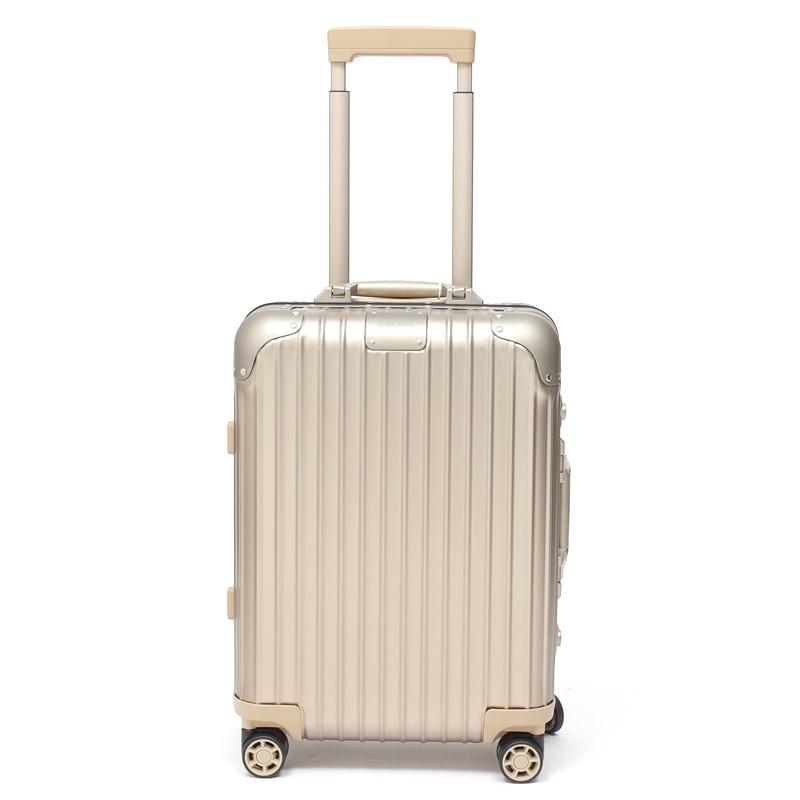 RIMOWA(リモワ)スーツケース リモワ オリジナル 925.52.03.4 キャビンS チタニウム 在庫商品 32リットル 4輪画像