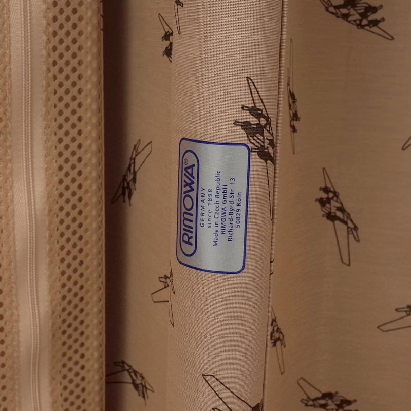 リモワ クラシックフライト 在庫商品 971.63.00.4 60リットル 4輪