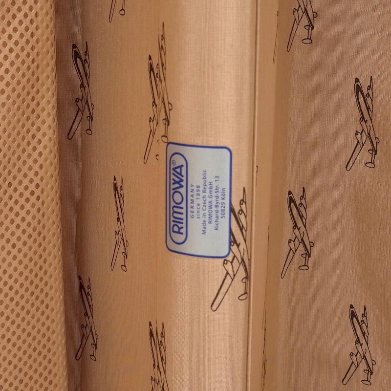 ルフトハンザ リモワ クラシックフライト 85リットル 在庫商品 4輪