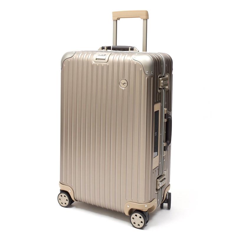 リモワスーツケース ルフトハンザ リモワ プライベートジェット 電子タグ 1749491 63.5リットル 在庫商品 4輪画像