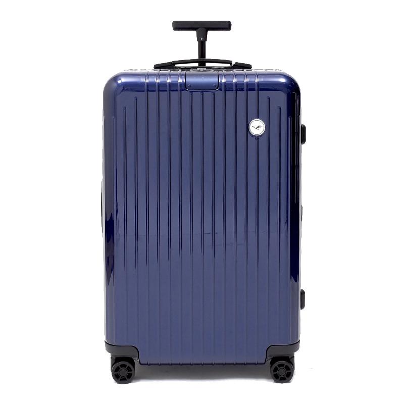 リモワスーツケース エッセンシャルライト ルフトハンザエディション Check-In M ブルー 59L 在庫商品画像