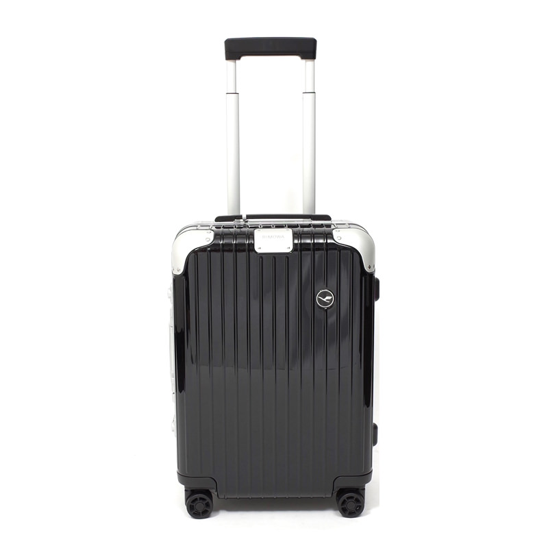 RIMOWA(リモワ)スーツケース ハイブリッド ルフトハンザエディション Cabin ブラック 37L 在庫商品画像