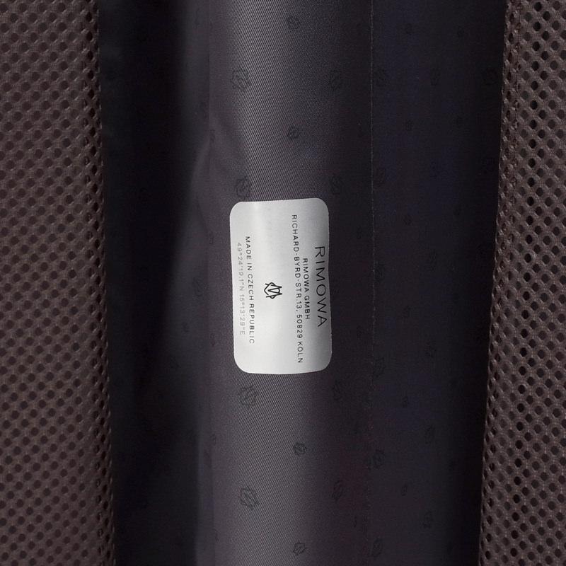 リモワ エッセンシャル  832.73.63.4 チェックインL 85L 在庫商品マットブラック