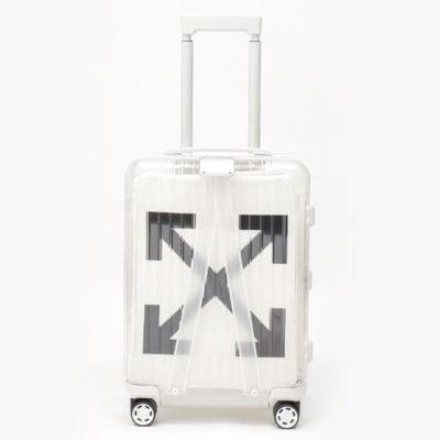 リモワ×OFF-WHITE限定 在庫商品 36リットル ホワイト 4輪
