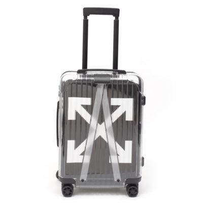 【週末限定価格】リモワ×OFF-WHITE限定 在庫商品 36リットル ブラック 4輪