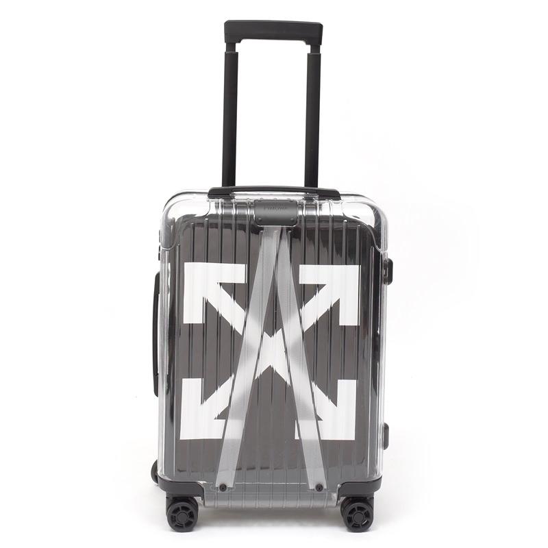 リモワ×OFF-WHITE限定 在庫商品 36リットル ブラック 4輪