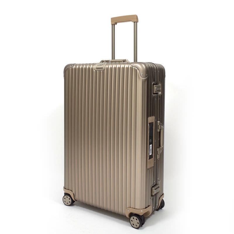 リモワスーツケース リモワ トパーズ チタニウム 電子タグ  在庫商品  924.77.03.5 98リットル 4輪画像