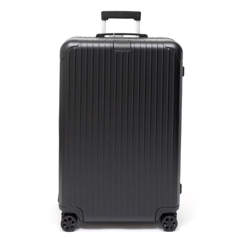RIMOWA(リモワ)スーツケース リモワ エッセンシャル  832.73 チェックインL 85L 中古美品 マットブラック画像