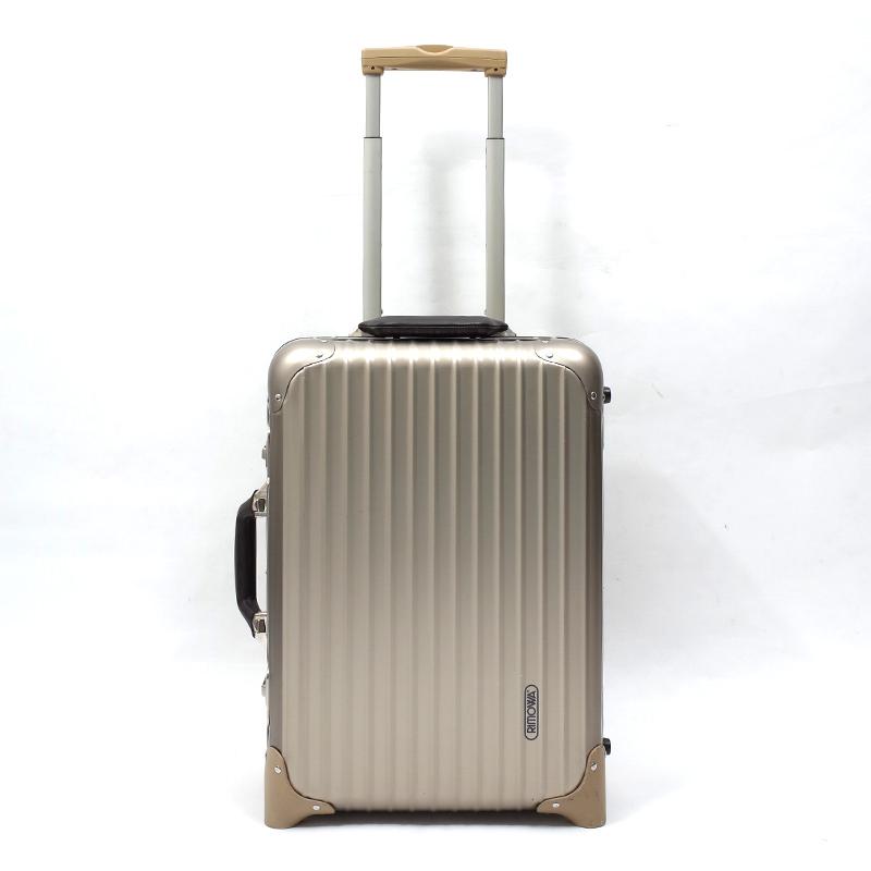 RIMOWA(リモワ)スーツケース リモワ トパーズプレミアム 944.52-2  中古美品 32リットル 2輪画像