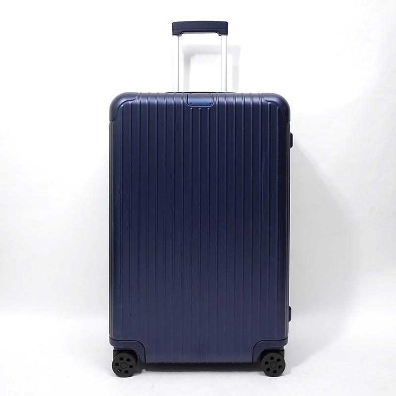 RIMOWA(リモワ)スーツケース リモワ エッセンシャル  832.73−2 チェックインL 85L 中古美品マットブルー画像