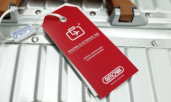 電子タグに対応しているリモワスーツケース