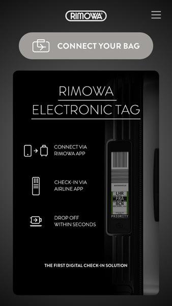 電子タグの使い方 - スーツケースとスマートフォンの接続準備