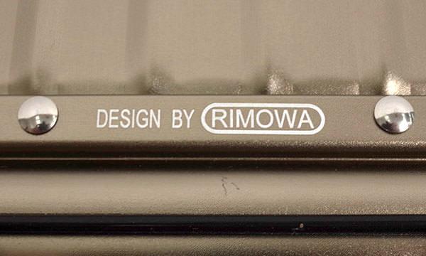 リモワの偽物の見分け方「製造国の刻印」 偽物
