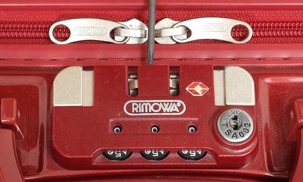 リモワ サルサ(旧シリーズ)のTSAダイヤルの設定を解除する